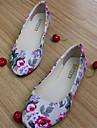 Damskor - Textil - Platt klack - Rund tå - Platt sko - Fritid - Svart / Blå / Grön / Rosa / Lila / Röd / Beige