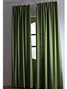 Deux Panneaux Le traitement de fenetre Rustique / Moderne / Neoclassique / Mediterraneen / Europeen / Designer , Solide Chambre a coucher