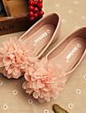 Platt sko ( Rosa/Beige ) - i Komfort/Rund tå - till FLICKA