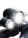 Eclairage Eclairage de Velo / bicyclette LED Lumens 4.0 Mode Cree XM-L T6 Cree R2 18650 Etanche RechargeableCamping/Randonnee/Speleologie