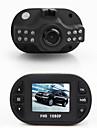 mini-boite noire 1.5 \'\' tft full hd 1080p voiture dvr camescope avec 12 LED IR vision nocturne