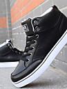 Chaussures Noir / Bleu / Marron / Blanc Similicuir Skateboard Femme