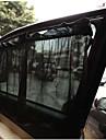 1 par svarta bil Solskydd gardin sugkopp UV-skydd sidorutan gardin