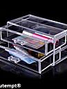 Opbevaringsløsninger til makeup Kosmetik Boks / Opbevaringsløsninger til makeup Plastic / Akryl Ensfarvet 18.6 x 11.5 x 9.0 Bisque