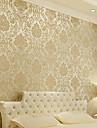 Blom Bakgrund För hemmet Klassisk Tapetsering , Icke-vävt Papper Material lim behövs tapet , room Wallcovering
