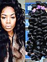 5a peruanska jungfru hår löst våg människohår väver 3st / lot peruanska lös våg hårförlängningar