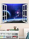 3d vägg dekaler vägg dekaler stil kreativa stora starry sky pvc väggdekorationer