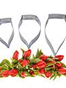 Four-C fondant och sugarcraft calla kronblad blomma rostfritt stål fräsar för kaka Utsmyckning verktyg bakning kök cutter