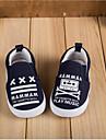 Blå / VitFlickor / Pojkar-Komfort-Kanvas-Fritid-Sneakers