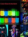 halloween lyser i mörkret neon ansikte& kroppsmålning -25ml en bit fluorescerande