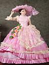 steampunk®classic 18th century Marie-Antoinette inspirerad klänning viktorian klänning halloween festklänning