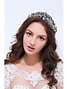 Women\'s Sterling Silver Alloy Headpiece - Wedding Special Occasion Casual Tiaras 1 Piece