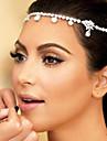 bruden håret europeiska och amerikansk stil brudklänning tillbehör däck hårband stjärna pannan
