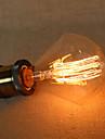 e27 diamant g95 fil rectiligne ampoule Edison 40w lampe grande lo barre de pendentif avec une source de lumiere retro