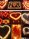 100st vita flamfri unscented återvunna ljus Värmeljus bröllop heminredning