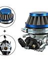 carb carburateur + filtre a air pour 2 temps poche motorise velo mini-moteur