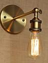 AC 100-240 40 E26/E27 Rustique/Campagnard Laiton Antique Fonctionnalite for Ampoule incluse,Eclairage d\'ambiance Chandeliers muraux