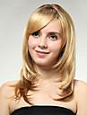 perruques de volume rasage de la mode poiriers europeens et americains de couleur blond dore