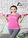 Femme Manches courtes Course / Running Tee-shirt Sechage rapide Ete Automne Vetements de sport Yoga Exercice & Fitness Course/Running