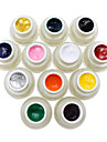 Azure Beauty Choose Any 1 Color Nail Art Paint Draw Painting Acrylic Color UV Gel  1#-12#(8g,12 Colors)