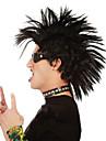 som säljer mode festival speciella peruk män högkvalitativ svart mohawk