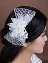 Women\'s Imitation Pearl/Net Headpiece - Wedding/Special Occasion Flowers 1 Piece
