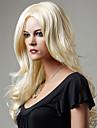 Europeiska och amerikanska mode rakning päron volym peruker färg blond