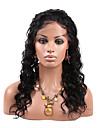 evawigs 8-26 pouces non transformes malaysian cheveux humains vierges perruque frisee pleine mode en dentelle perruques de couleur