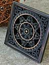 Gadget de Salle de Bain Laiton Antique Autre 100mm*100mm(3.93inch*3.93inch) Laiton Antique