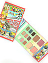 The B@lm Makeup Vol.2 Eye Shadow+Blusher+Lipstick Multi-function Make Up Face Matte Eyeshadow Palette Cosmetics