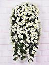 Une succursale Soie Orchidees Guirlande et Fleur Murale Fleurs artificielles 240cm*9cm*9cm