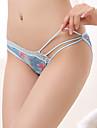 Feminin Imprimeu Pantaloni scurți & Briefs / Chiloți Ultra Sexy / Fără CusăturăBumbac / Plasă / Polyester)