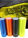 lorcoo ™ 60cm * 30cm bil ljus membran genomskinlig scrub bakljus film (gratis gåva kant gummiskrapa + kniv)