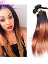3 delar Ret Human Hair vävar Peruanskt hår Human Hair vävar Ret