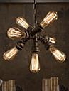 60 Hängande lampor ,  Traditionell/Klassisk Rustik/Stuga Vintage Kontor/företag Rustik Rektangulär Särdrag for Ministil MetallVardagsrum