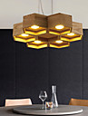 Pendant Lights LED Country Living Room / Bedroom / Dining Room / Study Room/Office / Kids Room / Game Room Wood/Bamboo