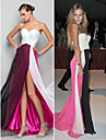 TS Couture Formal Evening / Military Ball Dress - Multi-color Plus Sizes / Petite A-line / Princess Sweetheart Floor-length Chiffon