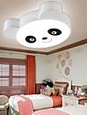 Max 48W Montage du flux ,  Contemporain Peintures Fonctionnalite for LED Metal Chambre a coucher / chambre d\'enfants