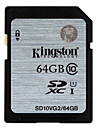 Kingston 64Go Classe 10 SD/SDHC/SDXCMax Read Speed20 (MB/S)Max Write Speed10 (MB/S)