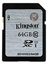 Kingston 64GB SD Kort minneskort UHS-I U1 class10