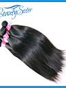 peruanska jungfru hår raka 2 st 7a obearbetade jungfru peruanska rakt hår billig människohår förlängning