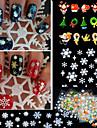 12pcs - Autocollants 3D pour ongles / Bijoux pour ongles - Doigt - en Adorable - 6*5*1
