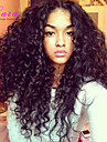 "Brazilian Virgin Hair Curly Lace Front Wig For Black Women Gueless Lace Front Human Hair Wigs 8""-24"""
