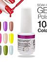 1st hög quaiity spik gel polish suga av 9 ml nail art design uv långvarig 108 underbara färger