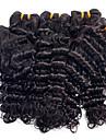 evet 7a högsta kvalitet brasilianska jungfru hår vinkar djupt människohår väva bunt brasilianskt jungfruligt hår natual färg 1 st