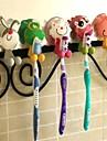 djur form hängande tandborste innehavare (slumpvis färg)
