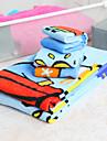 3-delat 100% bomull tecknade mönster handduk set