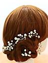 Donne Bambina Lega Perle false Copricapo-Matrimonio Occasioni speciali Fermacapelli 5 pezzi