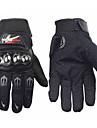 Motorcykel Handskar Helt finger Polyuretan / Bomull / Nylon M / L / XL Svart