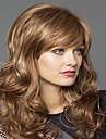 populära dam kvinnor blond syntheic våg peruker